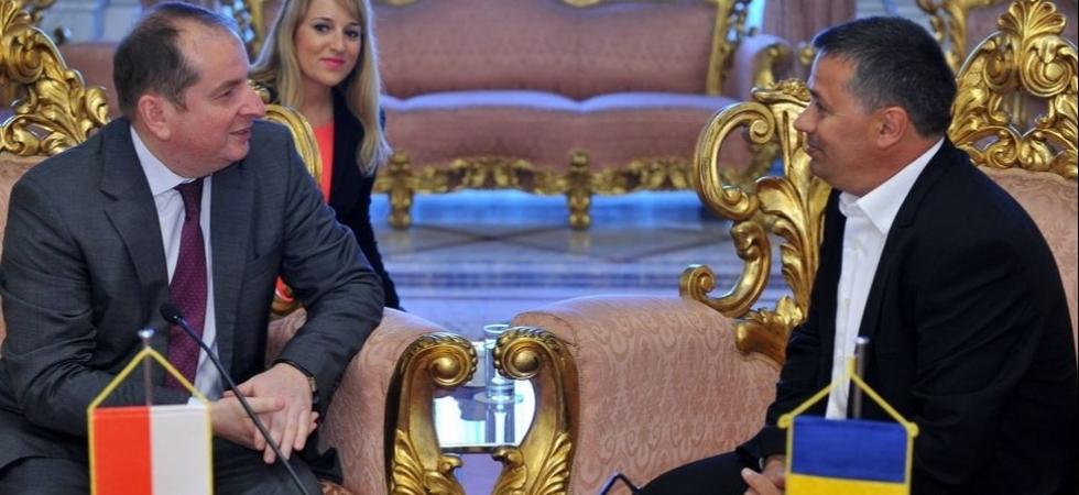 Deputat Petru Movila si Ambasadorul Poloniei la Bucuresti