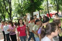 Cetatea Cartii - Copiii din Ungheni vor primi apoximativ 500 de carti - 29-30 mai 2010
