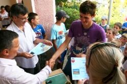 Zilele Comunei Aroneanu - Concursa national de poezie Ioanid Romanescu - 26 iulie 2011