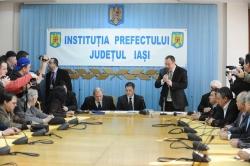 Instalarea in functiea a subprefectului de Iasi, d-nul Bogdan Saramet