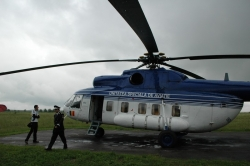Prezentare elicopter de interventie SMURD Iasi